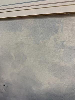 Lot 5 - VENICE COASTAL SCENE, A WATERCOLOUR BY THOMAS BUSH HARDY