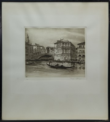Lot 15 - THREE ETCHINGS BY WILFRED HIGGINS