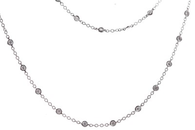 Lot 438 - A DIAMONDS BY THE YARD CHAIN