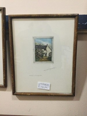 Lot 71 - A LOT OF THREE COLOUR ETCHINGS, BY CLAUDE HAMILTON ROWBOTHAM