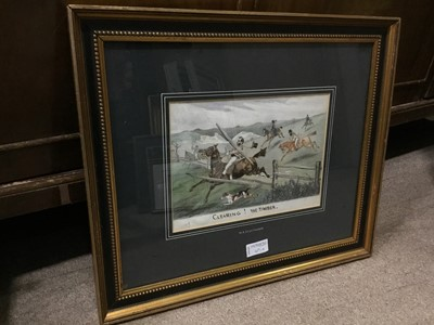 Lot 69 - A SMALL GROUP OF ASSORTED PICTURES
