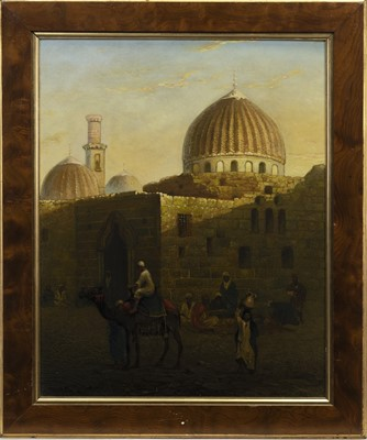 Lot 4 - NORTHWEST CORNER OF SAYED ZAINAB MOSQUE, CAIRO, AN OIL BY PAUL ELLIS