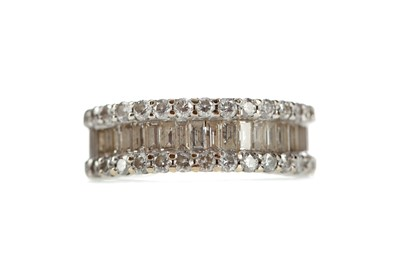 Lot 449 - A DIAMOND BAND