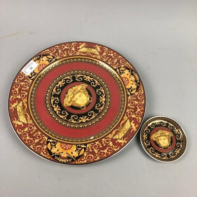 Lot 24 - A LOT OF TWO ROSENTHAL FOR VERSACE PLATES