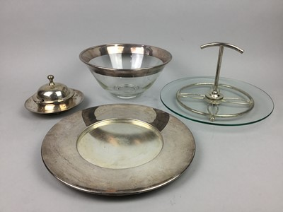 Lot 25 - A SELECTION OF ARTHUR PRICE SILVER PLATED ITEMS
