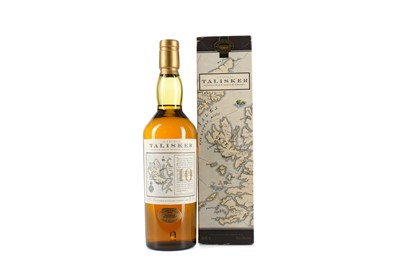 Lot 20 - TALISKER AGED 10 YEARS MAP LABEL