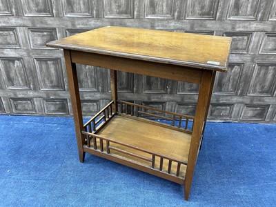 Lot 87 - A MAHOGANY TABLE