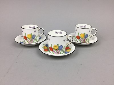 Lot 95 - A NEW CHELSEA 'CROCUS TIME' PART TEA SERVICE  AND OTHER TEA WARE