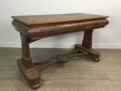 Lot 1620 - A VICTORIAN MAHOGANY LIBRARY TABLE