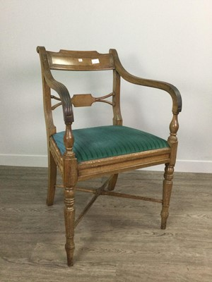 Lot 1615 - A VICTORIAN WALNUT CARVER CHAIR