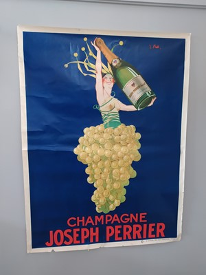 Lot 1622 - AN ART DECO JOSEPH PERRIER LITHOGRAPHIC POSTER