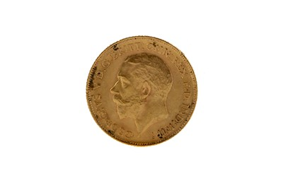 Lot 47 - A GOLD HALF SOVEREIGN DATED 1912