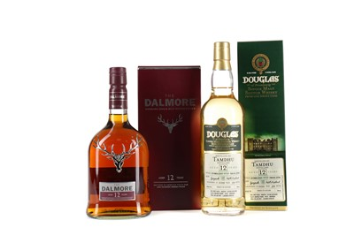 Lot 18 - TAMDHU 2001 DOUGLAS OF DRUMLANRIG AGED 12 YEARS AND DALMORE AGED 12 YEARS