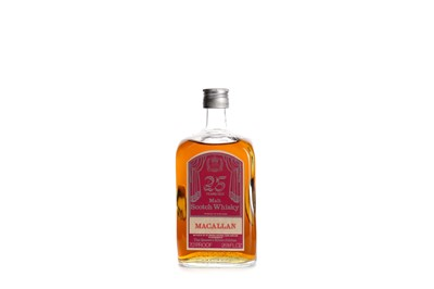 Lot 55 - MACALLAN 25 YEARS OLD QUEENS SILVER JUBILEE