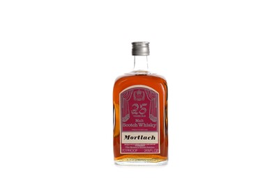 Lot 58 - MORTLACH 25 YEARS OLD QUEENS SILVER JUBILEE