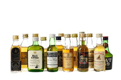 Lot 62 - FIFITY SCOTCH WHISKY MINIATURES