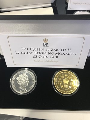 Lot 54 - A COLLECTION OF SILVER AND OTHER COINS