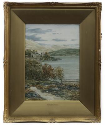 Lot 9 - A PAIR OF WATERCOLOURS BY JOHN HAMILTON GLASS