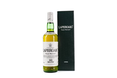 Lot 71 - LAPHROAIG ROYAL WARRANT 10 YEARS OLD