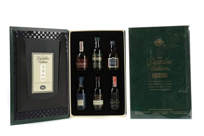 Lot 40 - TWO CLASSIC MALTS OF SCOTLAND DISTILLERS EDITION MINIATURE SETS
