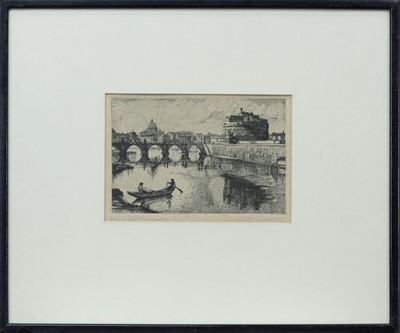 Lot 75 - A PAIR OF EARLY 20TH CENTURY ETCHINGS
