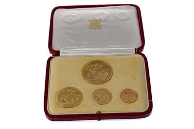 Lot 5 - A GEORGE VI 1937 GOLD FOUR COIN SPECIMEN SET