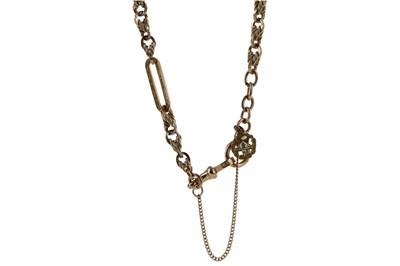 Lot 1311 - ALBERT CHAIN WITH LOOSE JUMP RINGS