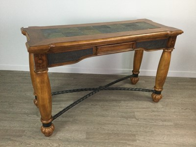 Lot 1676 - A REPRODUCTION HALL TABLE OF ITALIAN DESIGN