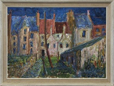 Lot 92 - LINLITHGOW, AN OIL BY J V CAMPBELL