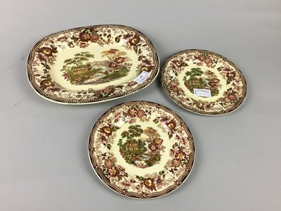 Lot 54 - A ROYAL STAFFS. MEAT DISH AND OTHERS