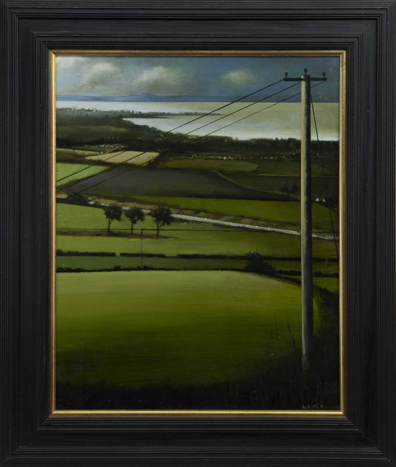 Lot 552 - THE OVERLOOK, AN OIL BY LOUIS SINCLAIR MCNALLY
