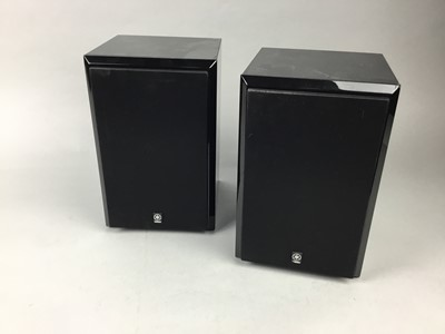 Lot 68 - A PAIR OF YAMAHA  SPEAKERS