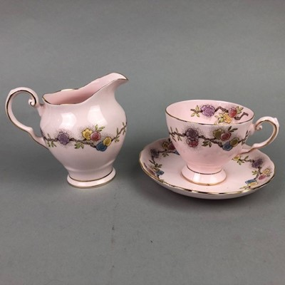 Lot 48 - A PARAGON PART TEA SERVICE AND OTHER TEA WARE