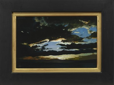 Lot 570 - A TOUCH OF ALCHEMY, AN OIL BY ANGUS MCEWAN