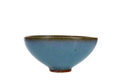 Lot 649 - A CHINESE JUN-STYLE GLAZED BOWL