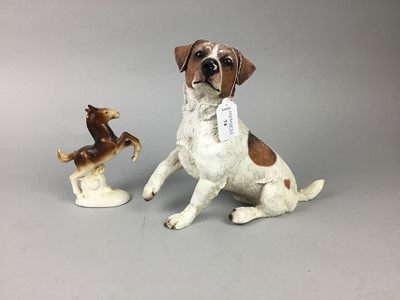 Lot 74 - A LOT OF TWO DOG FIGURES AND OTHERS
