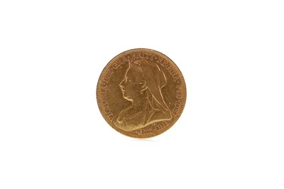 Lot 6 - A GOLD SOVEREIGN DATED 1901