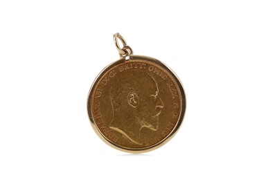 Lot 8 - A GOLD SOVEREIGN DATED 1903