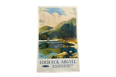 Lot 1695 - BRITISH RAILWAYS - LOCH ECK, ARGYLL POSTER