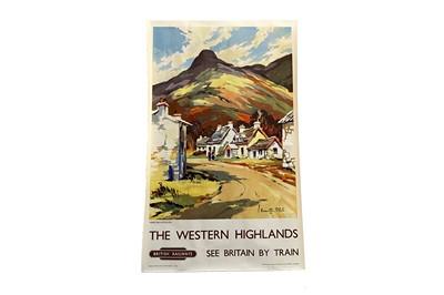 Lot 1696 - BRITISH RAILWAYS - THE WESTERN HIGHLANDS POSTER