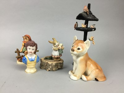Lot 92 - A GROUP OF CERAMIC FIGURES
