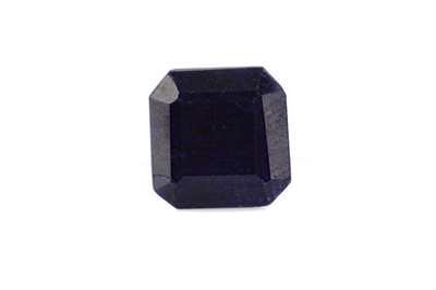 Lot 1431 - A CERTIFICATED UNMOUNTED SAPPHIRE