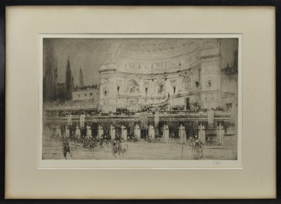 Lot 57 - THE (SO-CALLED) STADIUM OF DOMITIAN ON THE PALATINE HILL, AN ETCHING BY WILLIAM WALCOT