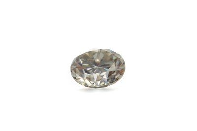 Lot 946 - AN UNMOUNTED MOISSANITE