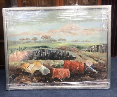 Lot 26 - A LOT OF TWO FRAMED LANDSCAPES BY LOUIS ANNAND
