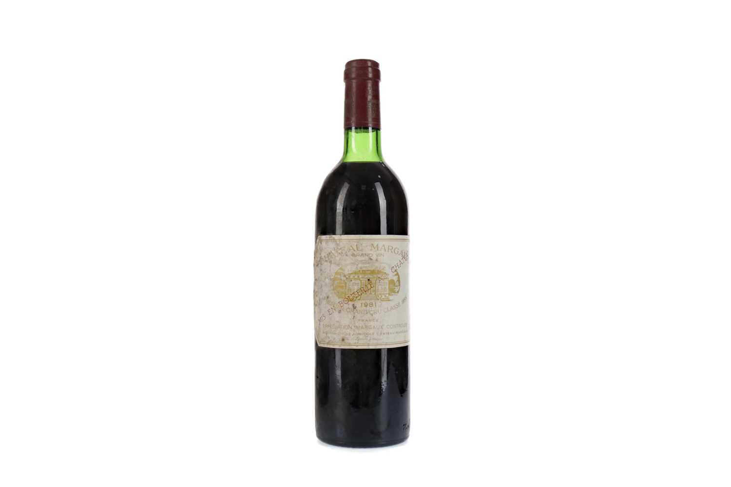 Lot 16 - CHATEAU MARGAUX 1981