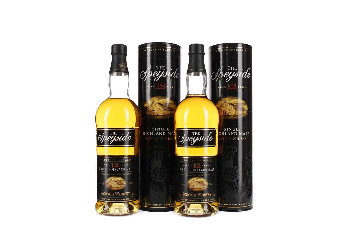 Lot 27 - TWO BOTTLES OF SPEYSIDE AGED 12 YEARS