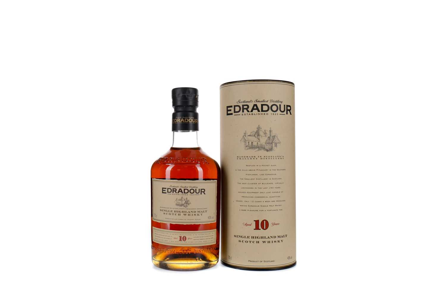 Lot 37 - EDRADOUR AGED 10 YEARS
