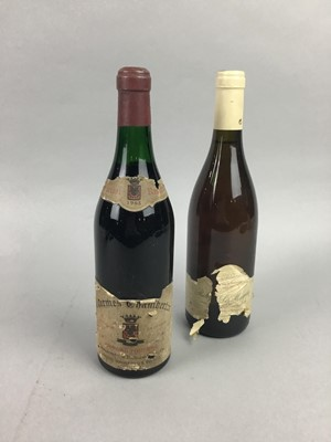 Lot 95 - SIX BOTTLES OF FRENCH WINE