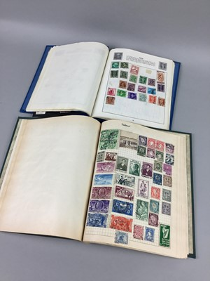 Lot 12 - A COLLECTION OF STAMP ALBUMS